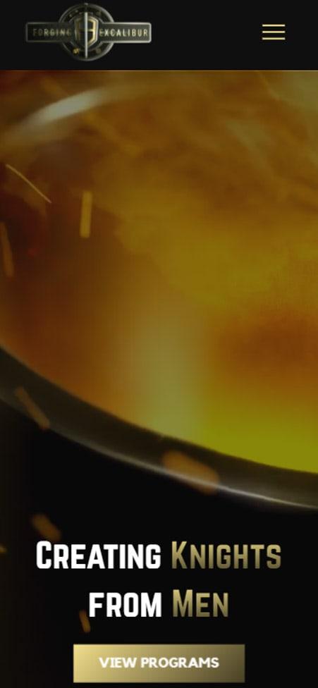 mobile screenshot of Forging Excalibur