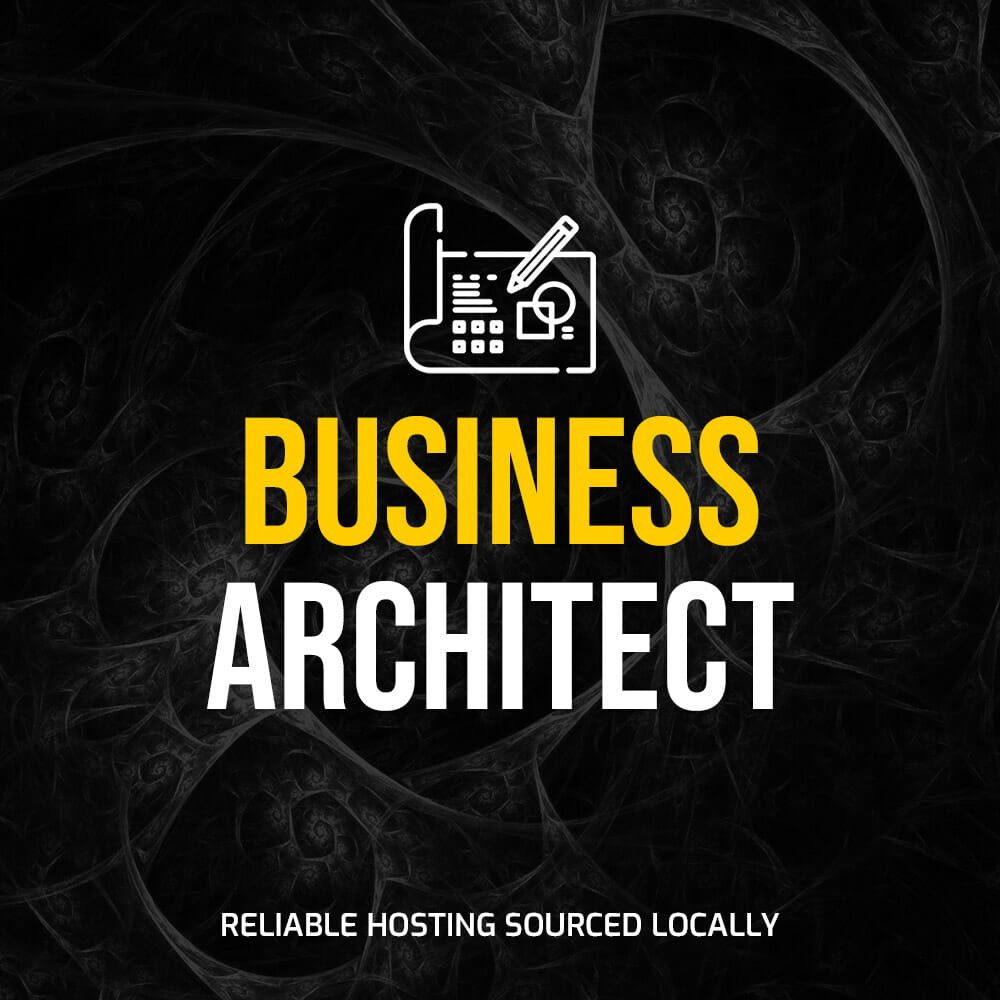"""Featured image for """"Hosting – Business Architect"""""""