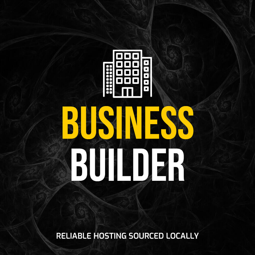 """Featured image for """"Hosting – Business Builder"""""""