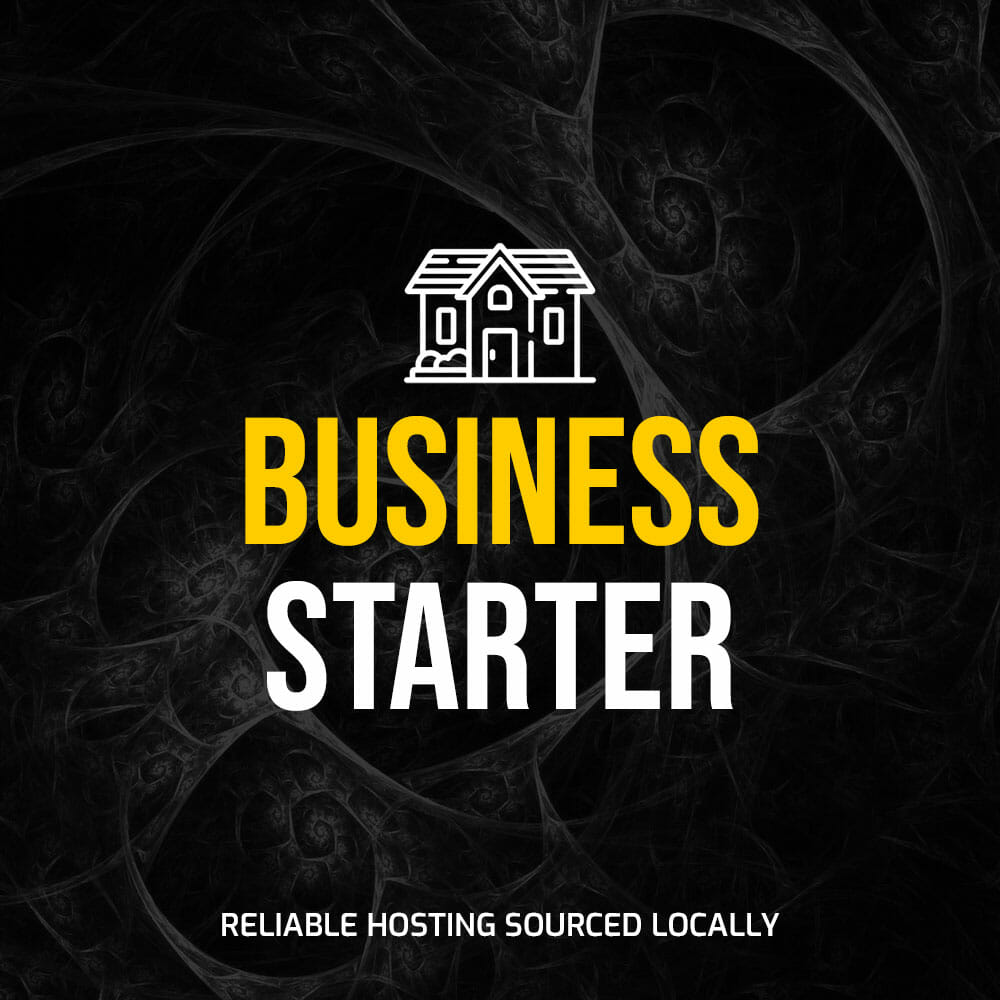 """Featured image for """"Hosting – Business Starter"""""""